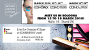 COSMOPROF Bologna 2018, from MARCH 15th - 19th
