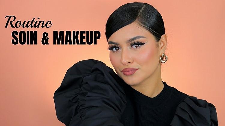 Routine Soins et Maquillage par la Youtubeuse SOMOUAH